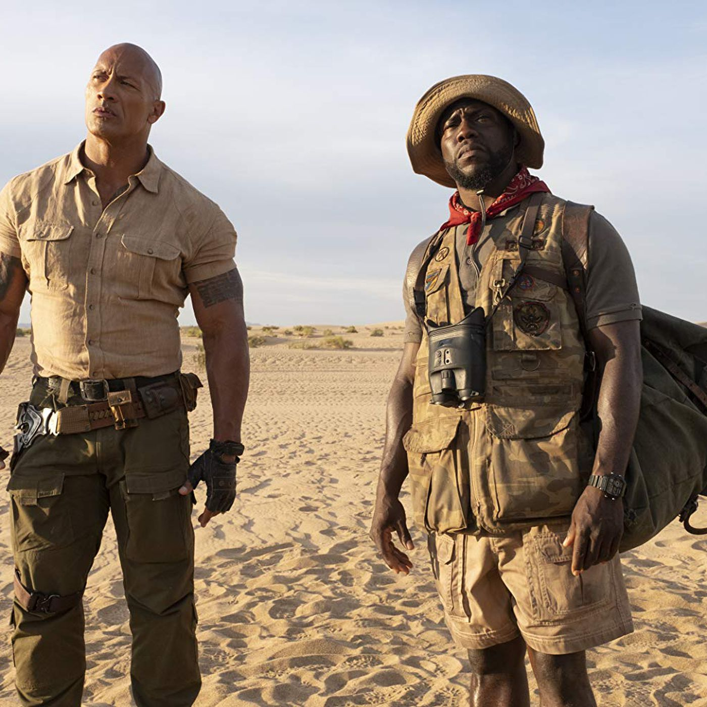 Jumanji The Next Level Review A Pretty Good Body Swap Comedy The Verge