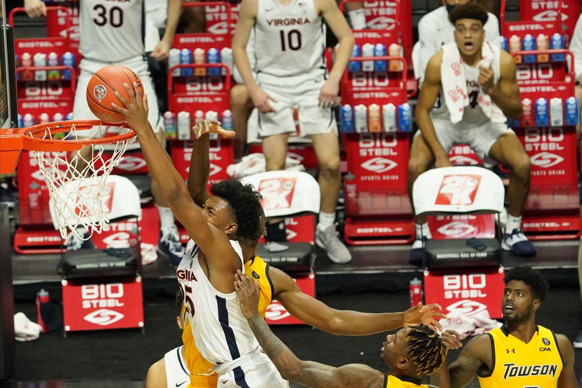 NCAA Basketball: Virginia at Towson