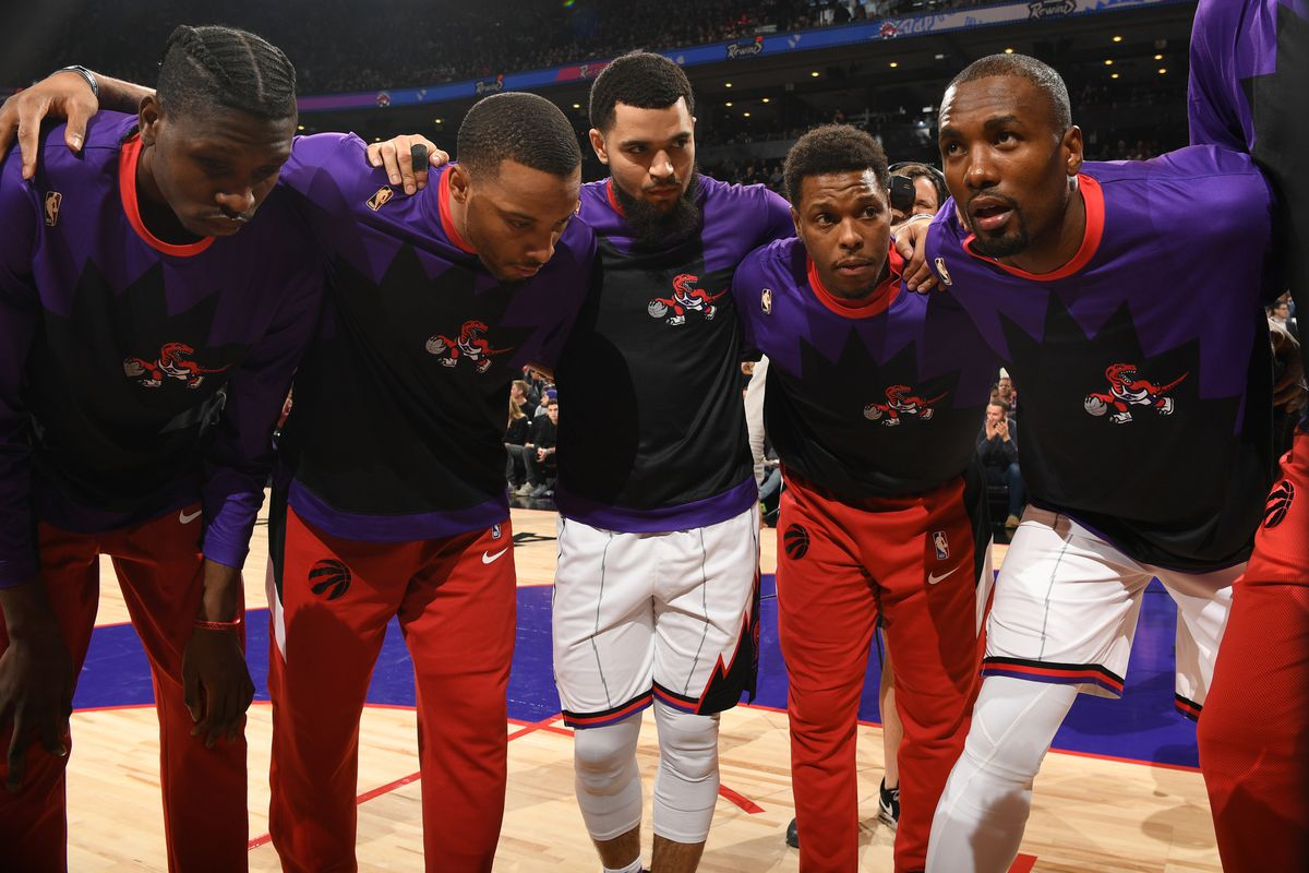Toronto Raptors Temperature: To remember and to be grateful