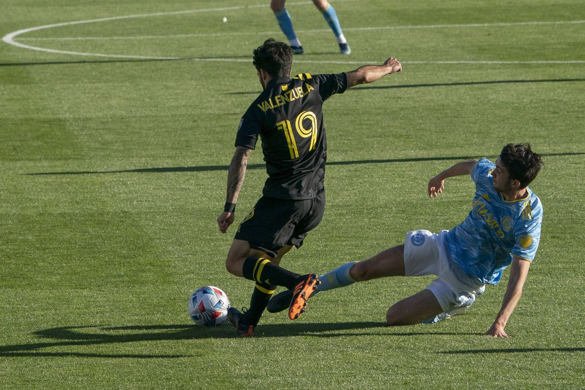 SOCCER: APR 18 MLS - Philadelphia Union at Columbus Crew SC