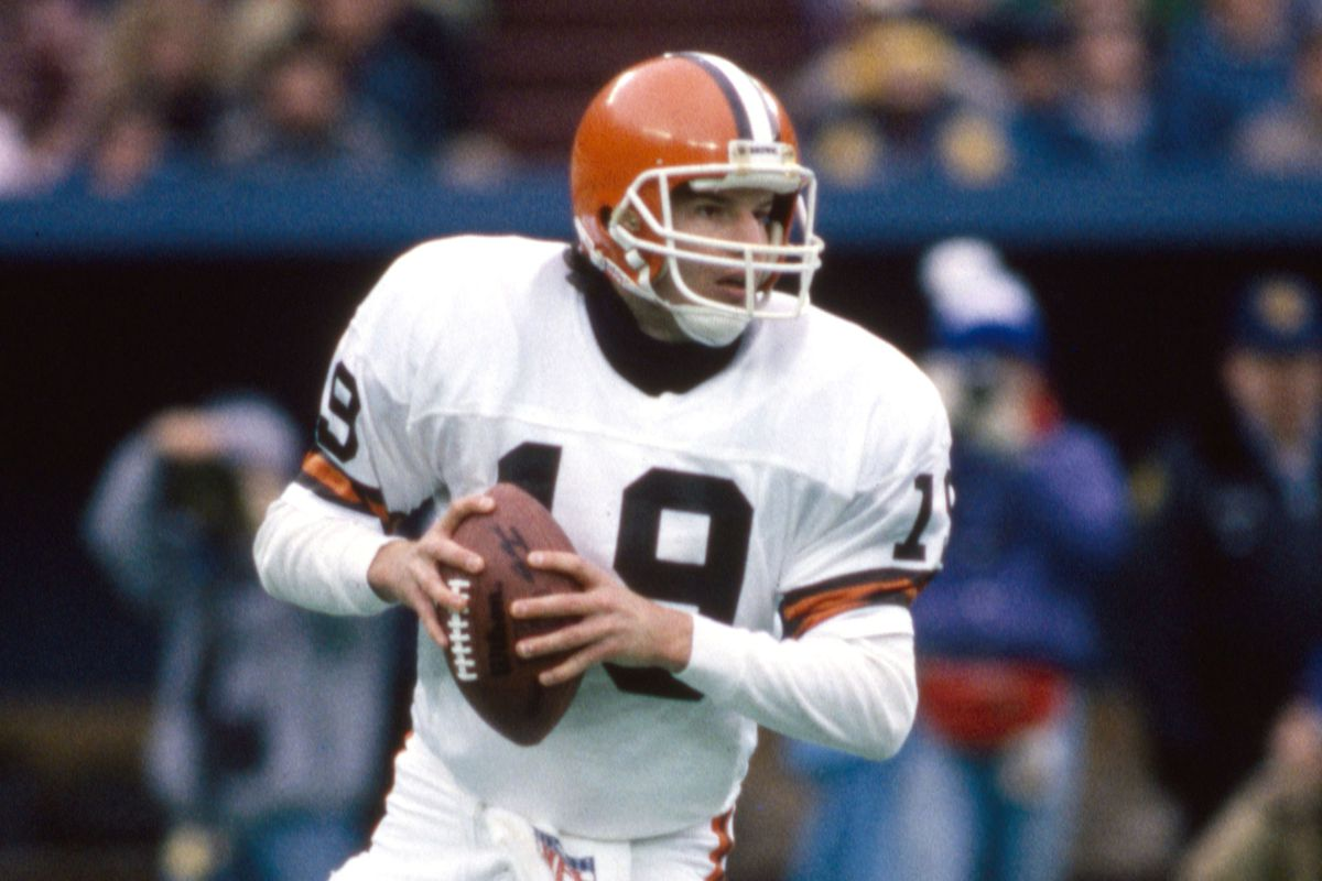 Couldn't find any old-timey Indians players in the search, so here's Bernie Kosar