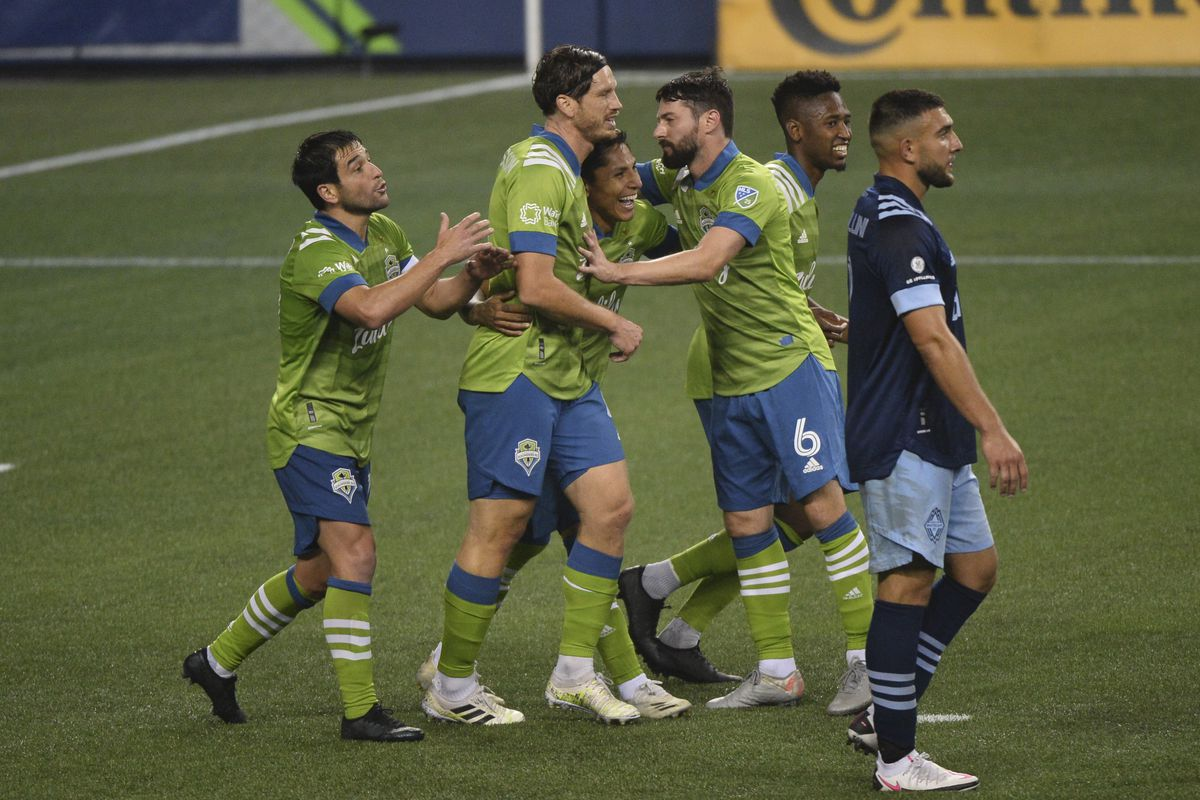 SOCCER: OCT 03 MLS - Vancouver Whitecaps FC at Seattle Sounders FC