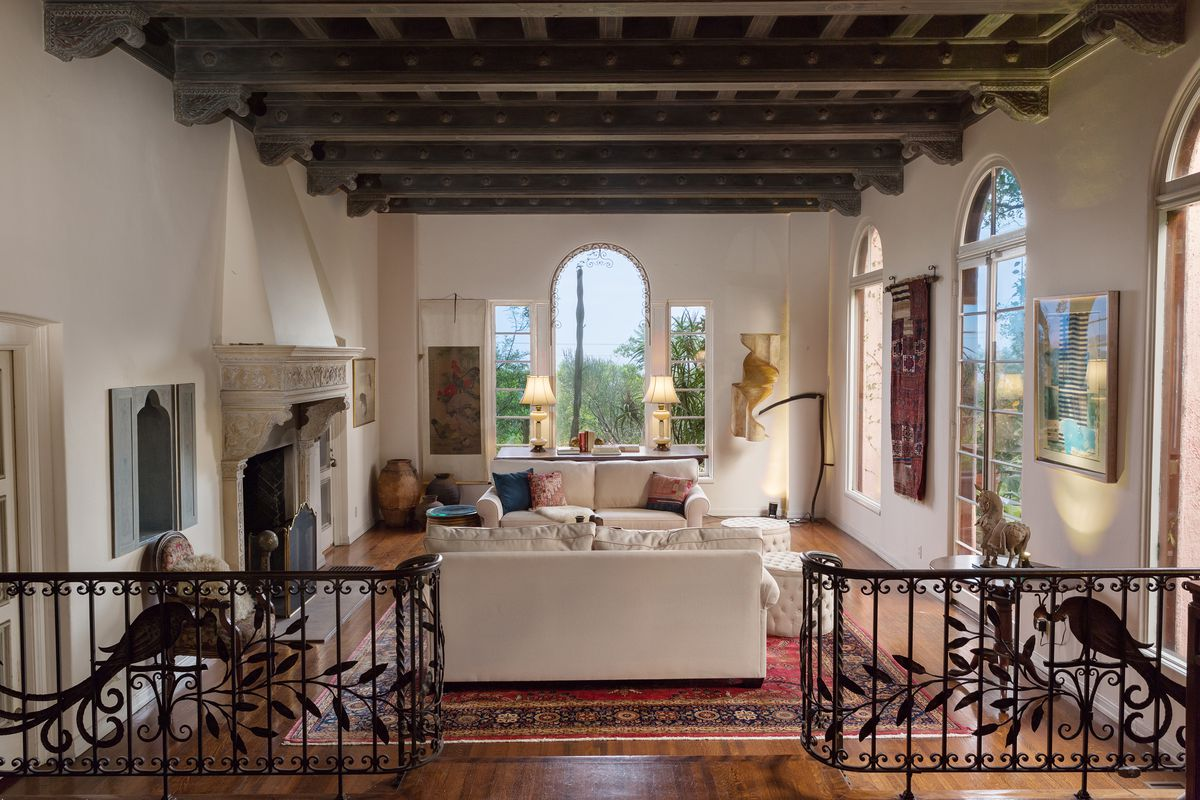 Glamorous Mediterranean-style house replete with original '20s ... on 80's house designs, early 1900's house designs, 1960's house designs,