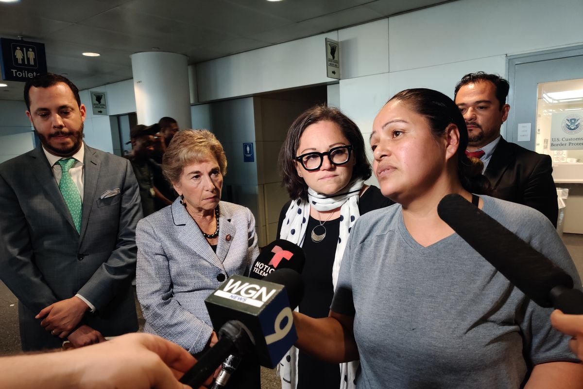 3 children released at O'Hare after being detained by feds more than 12 hours