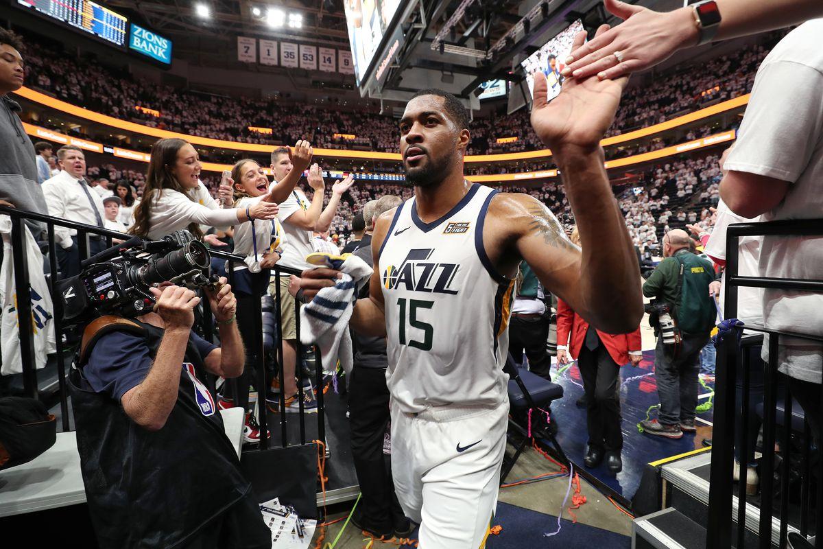 Houston Rockets v Utah Jazz - Game Four