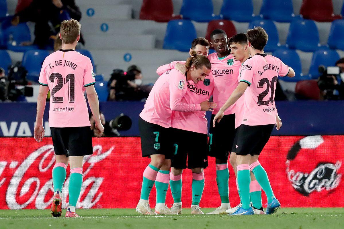 Levante v FC Barcelone - La Liga Santander