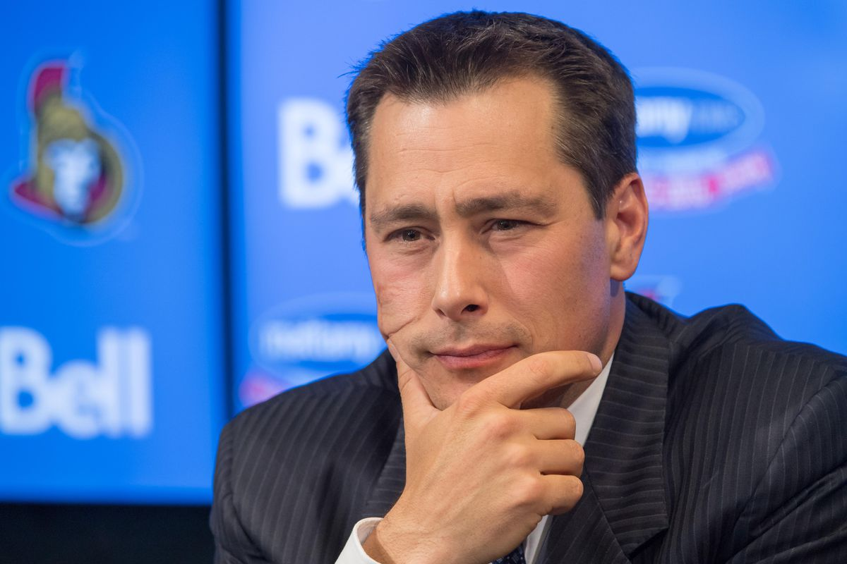 Boucher after being told to put his game face on