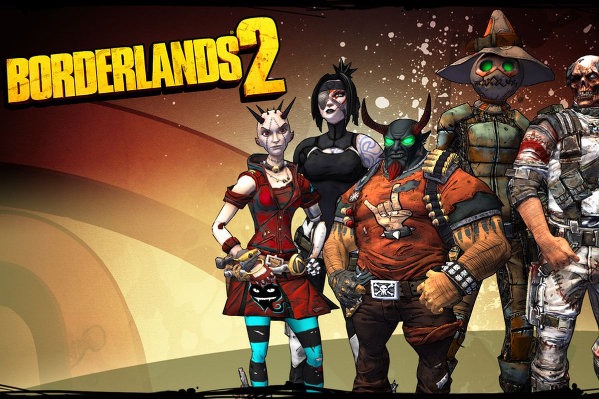 all borderlands 2 heads