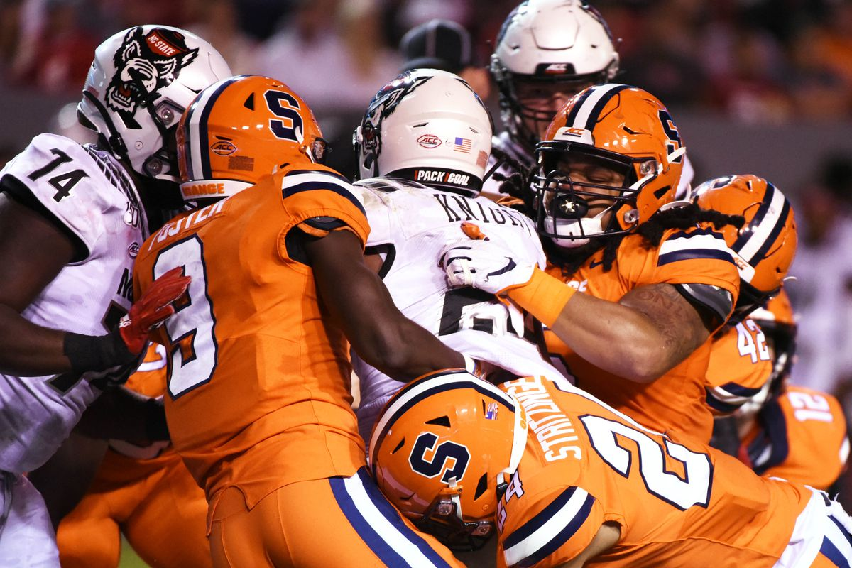 NCAA Football: Syracuse at North Carolina State