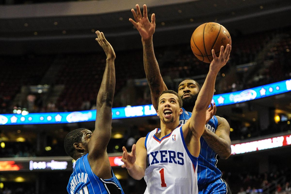 Andrew Nicholson, Michael Carter-Williams, and Kyle O'Quinn