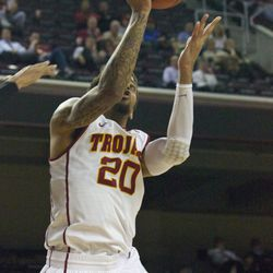 J.T. Terrell goes up for the layup.