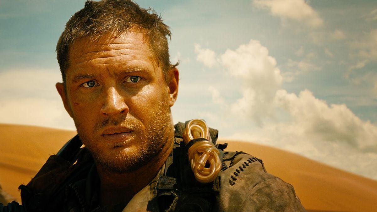 Tom Hardy stars in Mad Max: Fury Road.