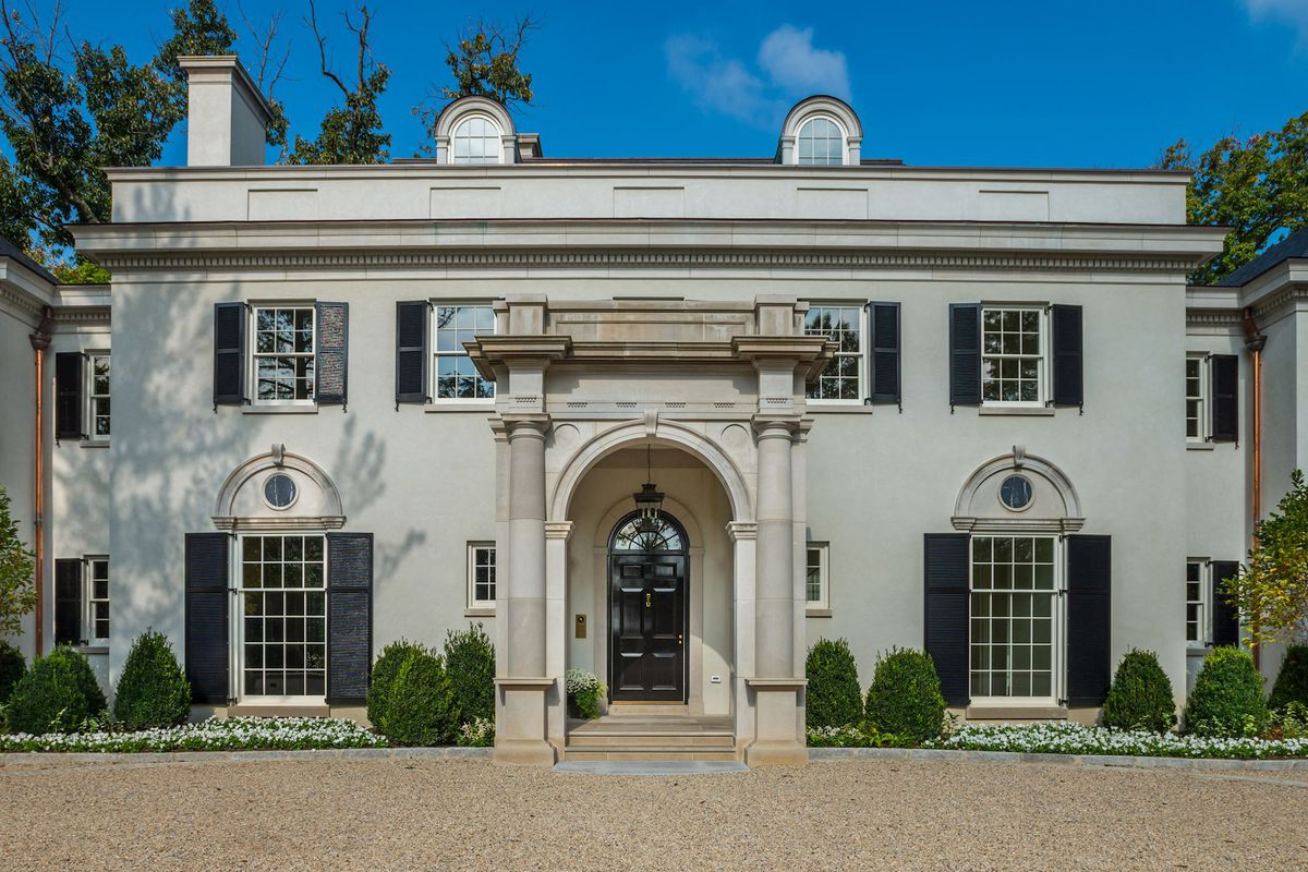 inside d c s most expensive home on the market asking 20m curbed dc