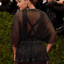 Bey from the back