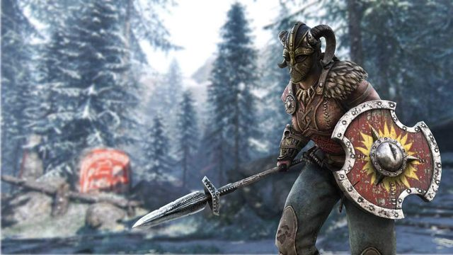 Valkyrie, a fighter class in Ubisoft's For Honor (2017)
