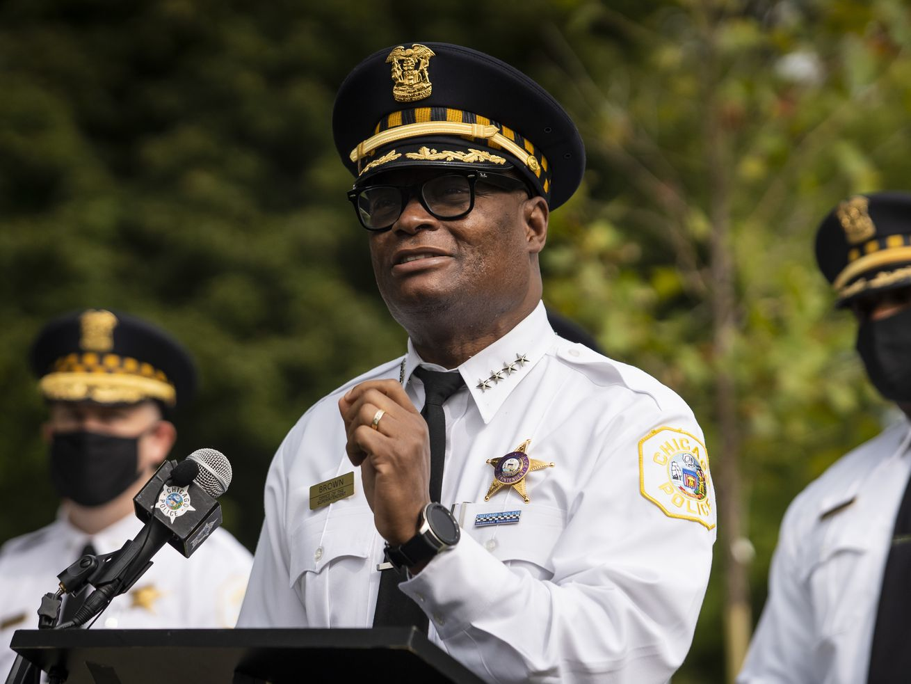 Police Supt. David Brown and his department have been quietly taking care of business and deserve our appreciation.
