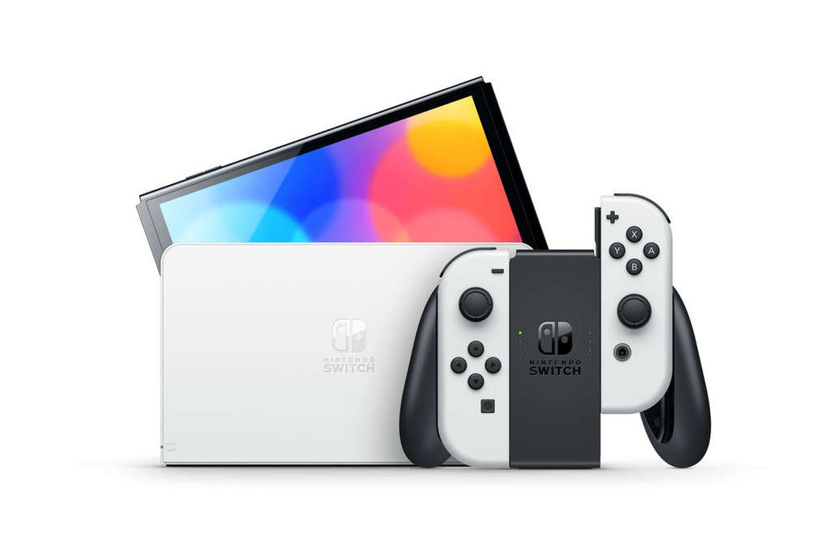 Preorders for the new OLED Nintendo Switch will start at 3PM ET / 12PM PT  today - The Verge