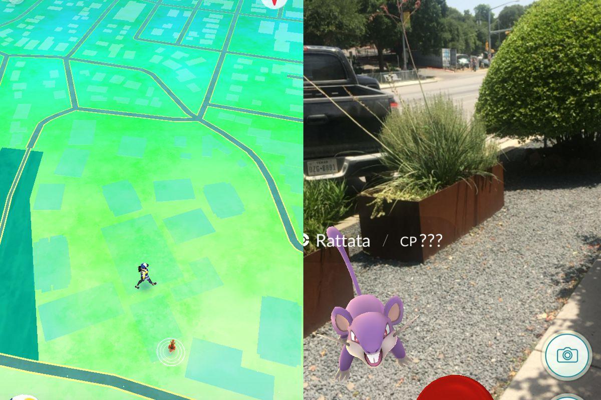 Pokémon Go on South Congress