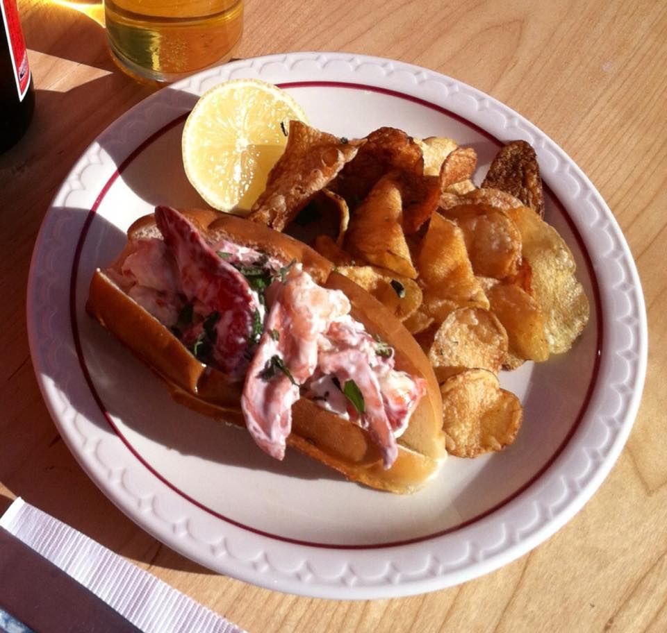 Lobster roll at Bill's Original Kitchen