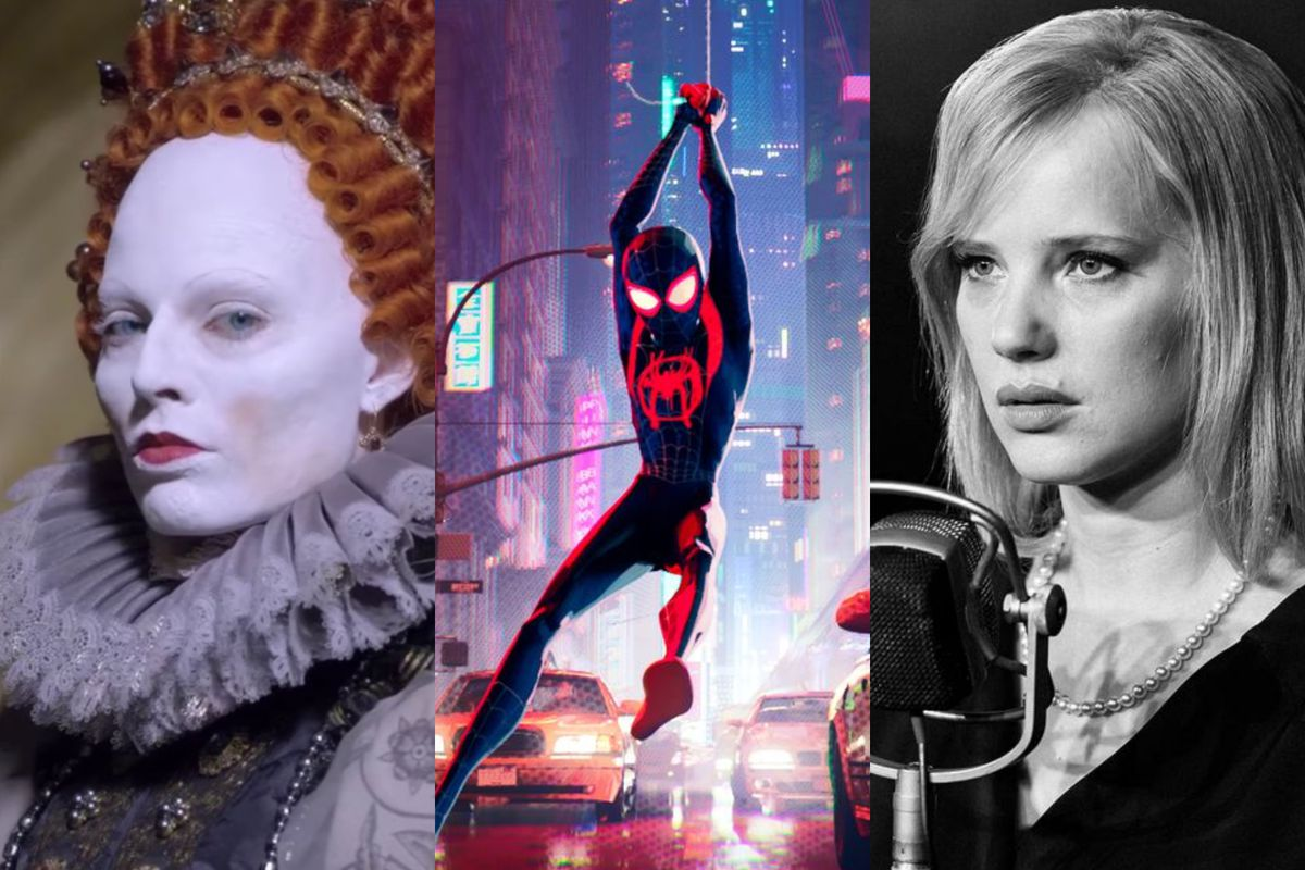 Mary Queen of Scots, Spider-Man: Into the Spider-Verse, and Cold War are all in theaters this month.
