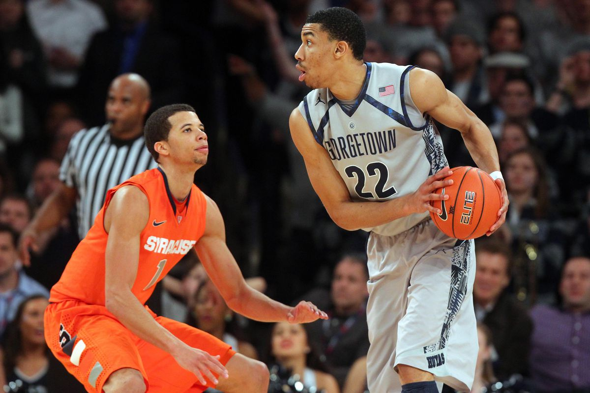 Two top ten prospects facing off: Otto Porter and Michael Carter-Williams