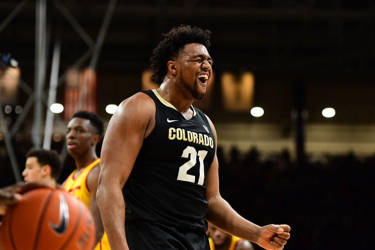 NCAA Basketball: Southern California at Colorado