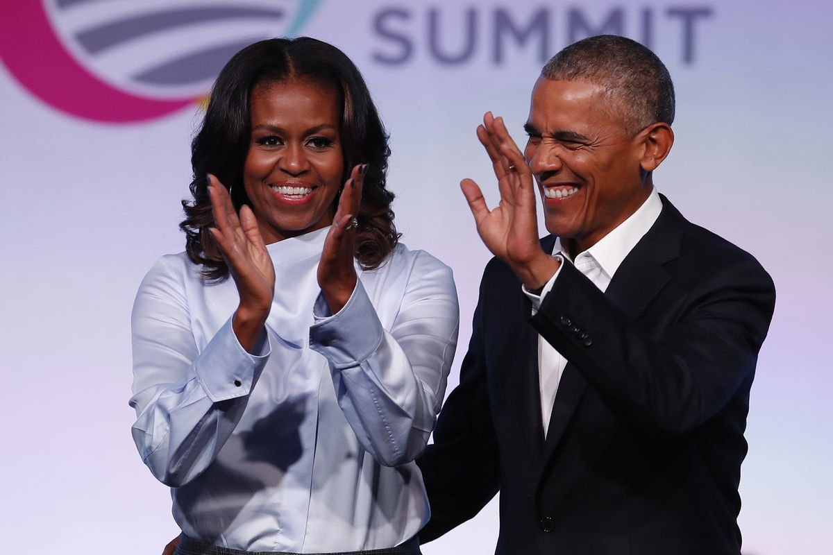 Barack and Michelle Obama to speak at Chicago summit on presidential center