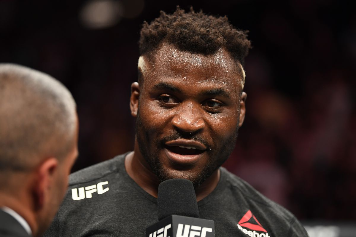 UFC heavyweight Francis Ngannou: Title shot hasn't been confirmed but 'it's just obvious' that I'm next