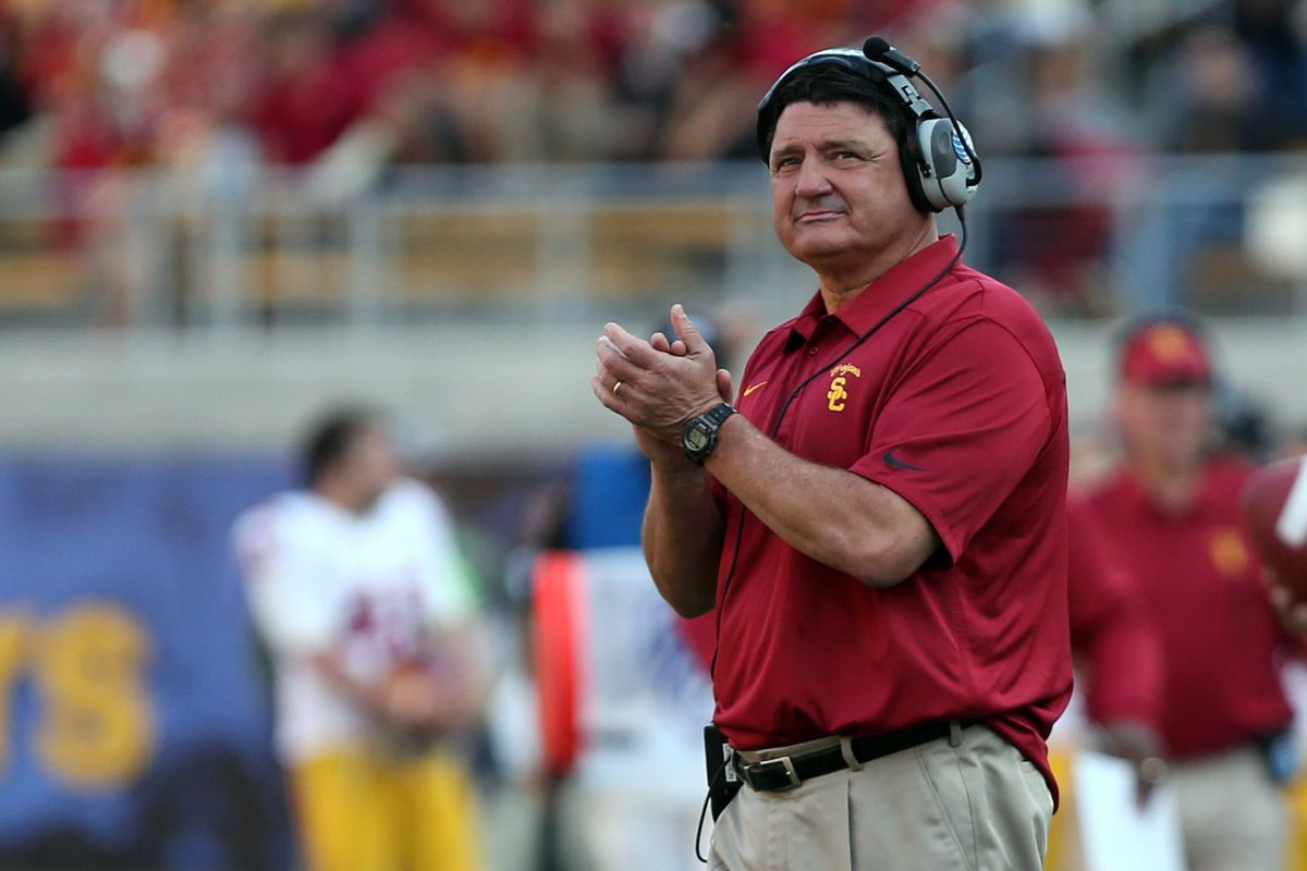 Ed Orgeron wants to return to coaching.