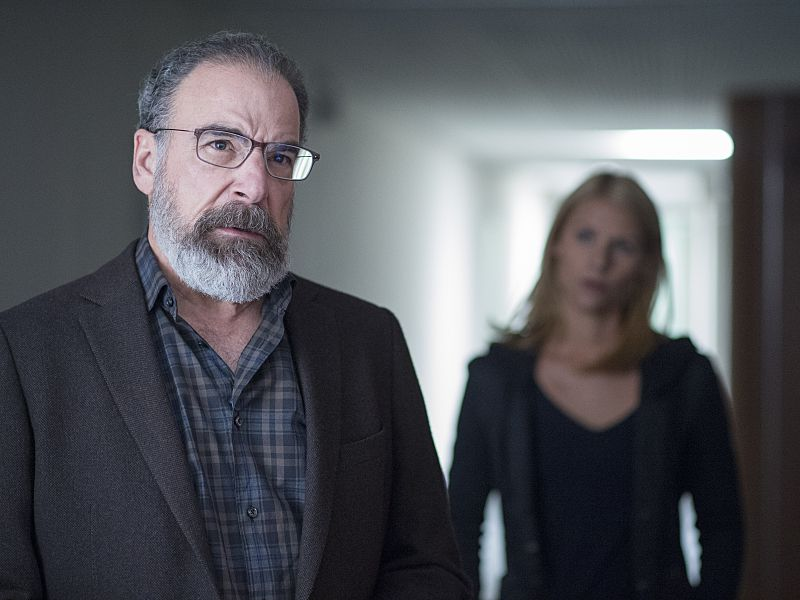 Saul and Carrie in Homeland.