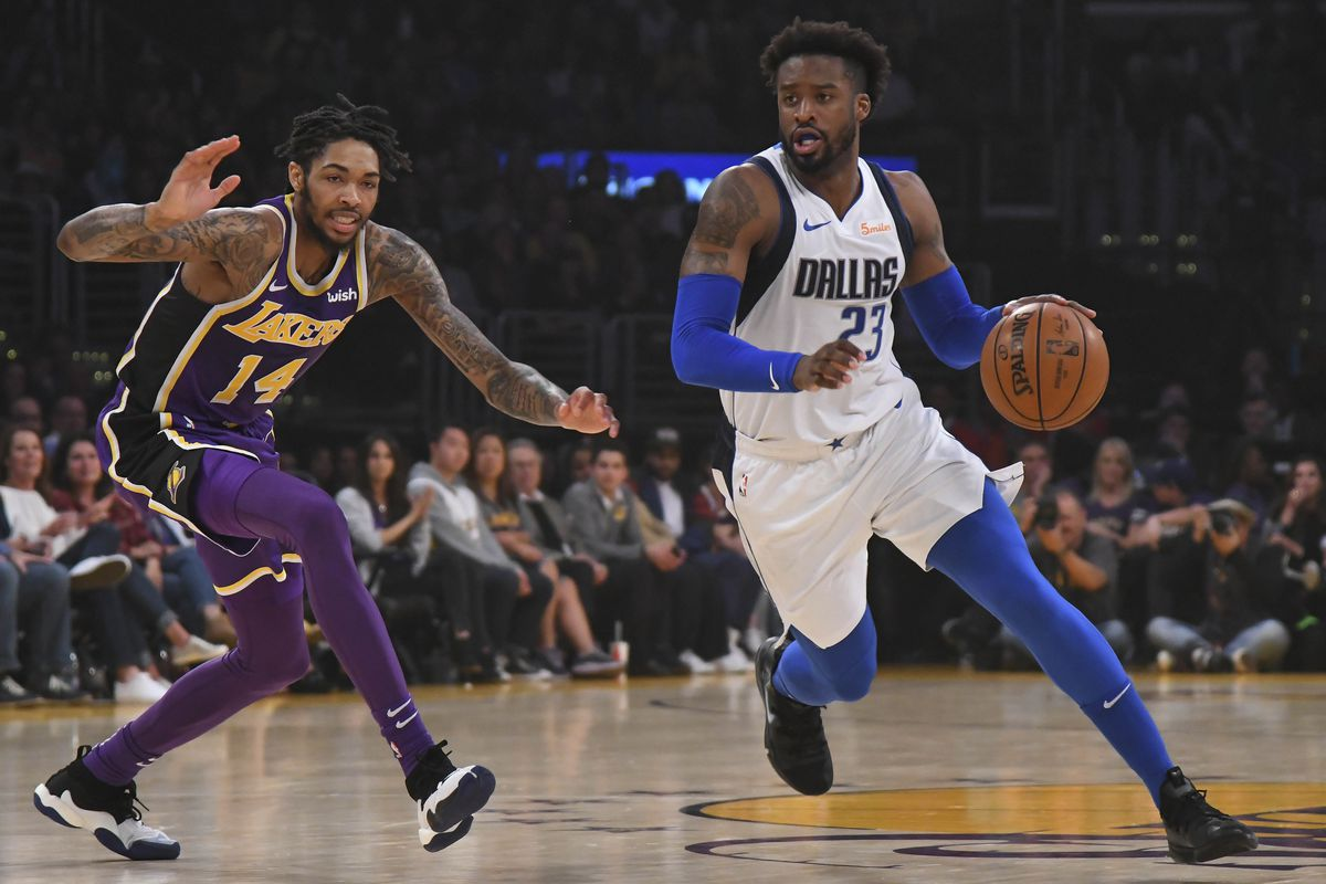 Lakers Vs Mavericks Score Why Did Wesley Matthews Foul