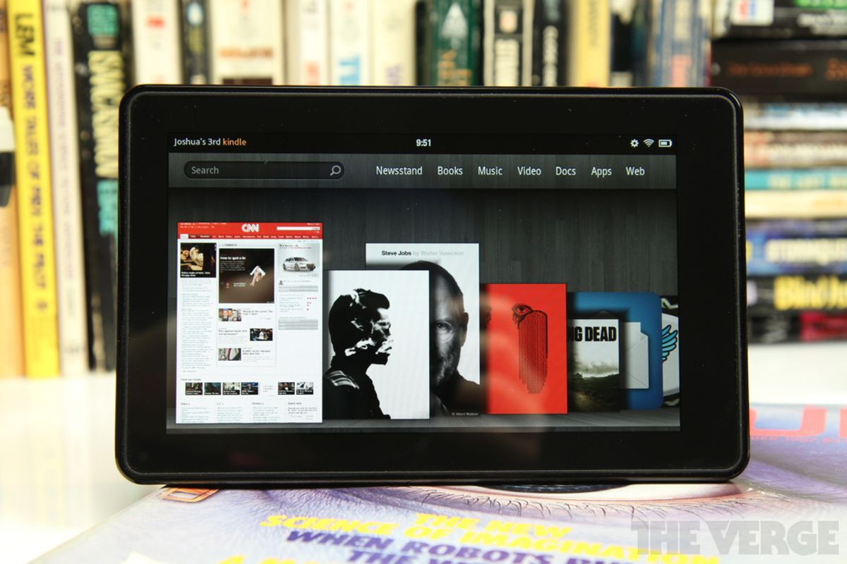 Spotify finally comes to the Kindle Fire - The Verge