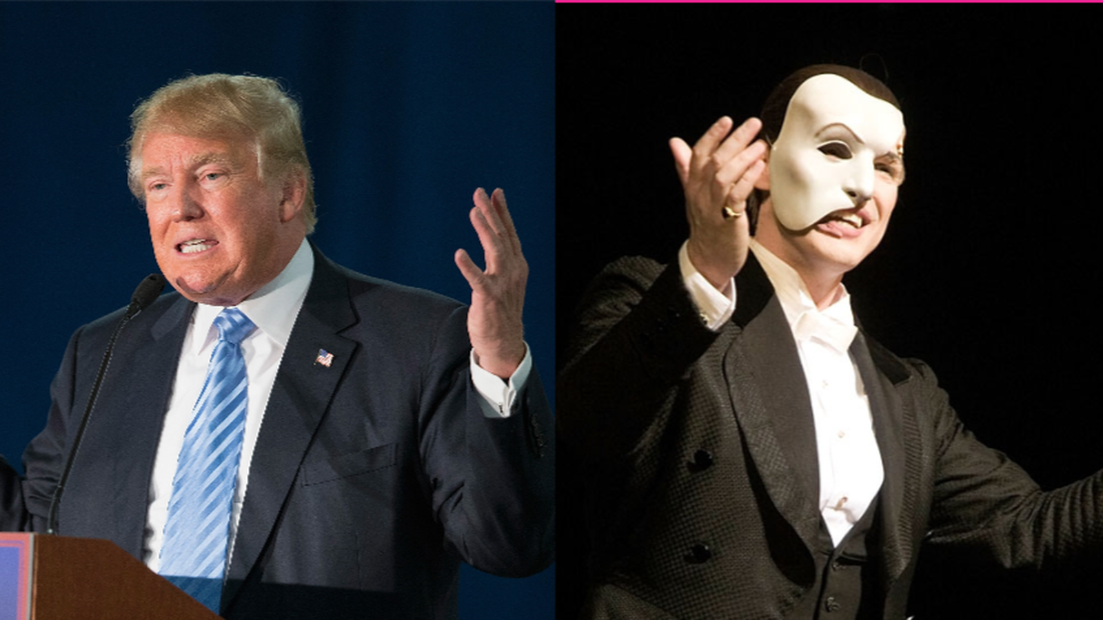 Why Donald Trump plays Phantom of the Opera at his rallies   Vox