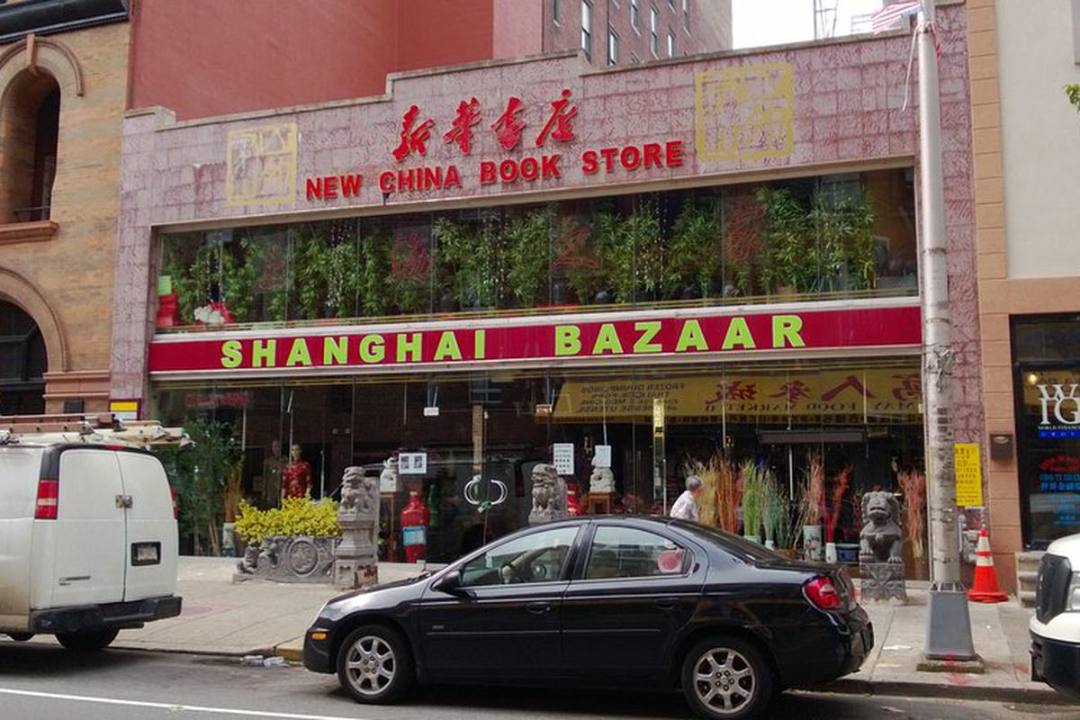 Now-defunct Shanghai Bazaar is being transformed into a food court.