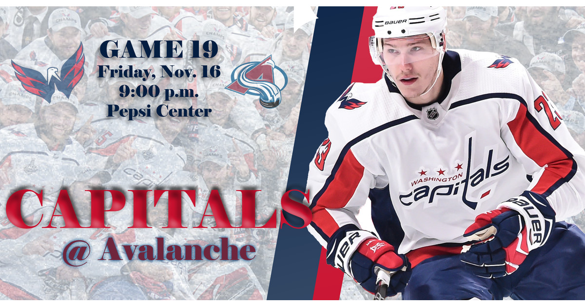 e109c455e67 Capitals   Avalanche Game Thread - Japers  Rink