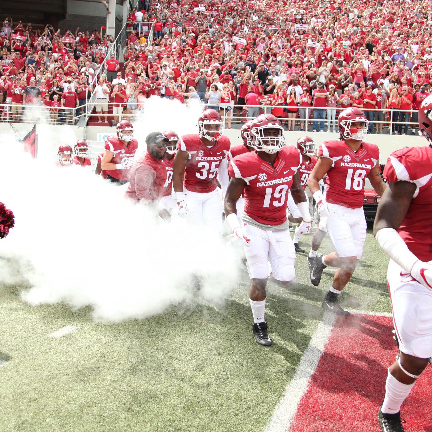 Arkansas 2018 Football Schedule Officially Released Arkansas Fight