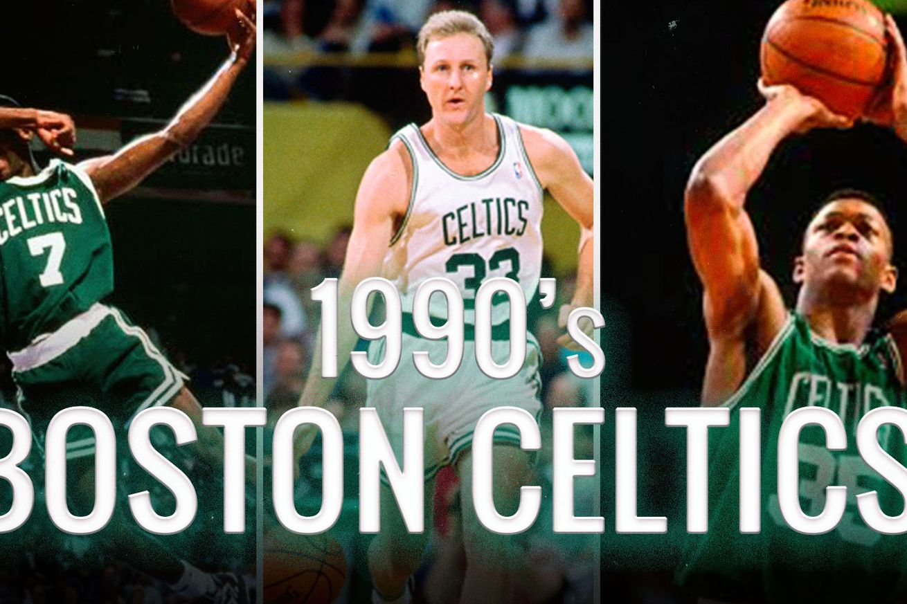 85e08262f9b Celtics History Week  The 90s were better than you think (video)