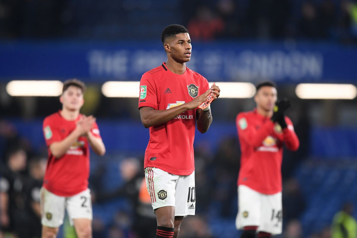 Chelsea FC v Manchester United - Carabao Cup Round of 16