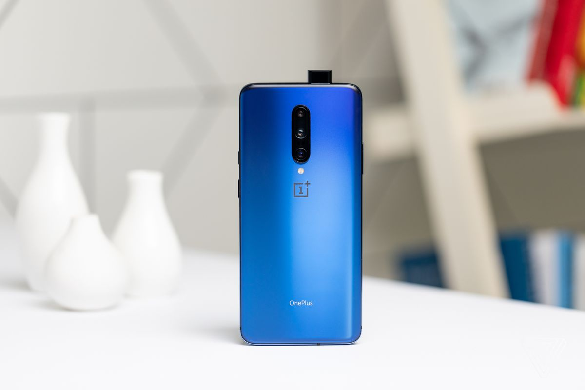 The OnePlus 7 Pro has a 90Hz screen, three cameras, and