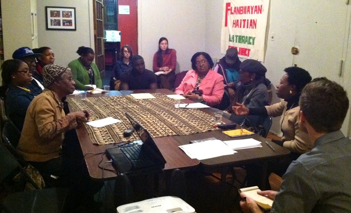 At a Chalkbeat Conversation in Brooklyn, reporter Patrick Wall hears about participants' varied experiences as parents of English Language Learners.