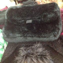 Furry purse, $59