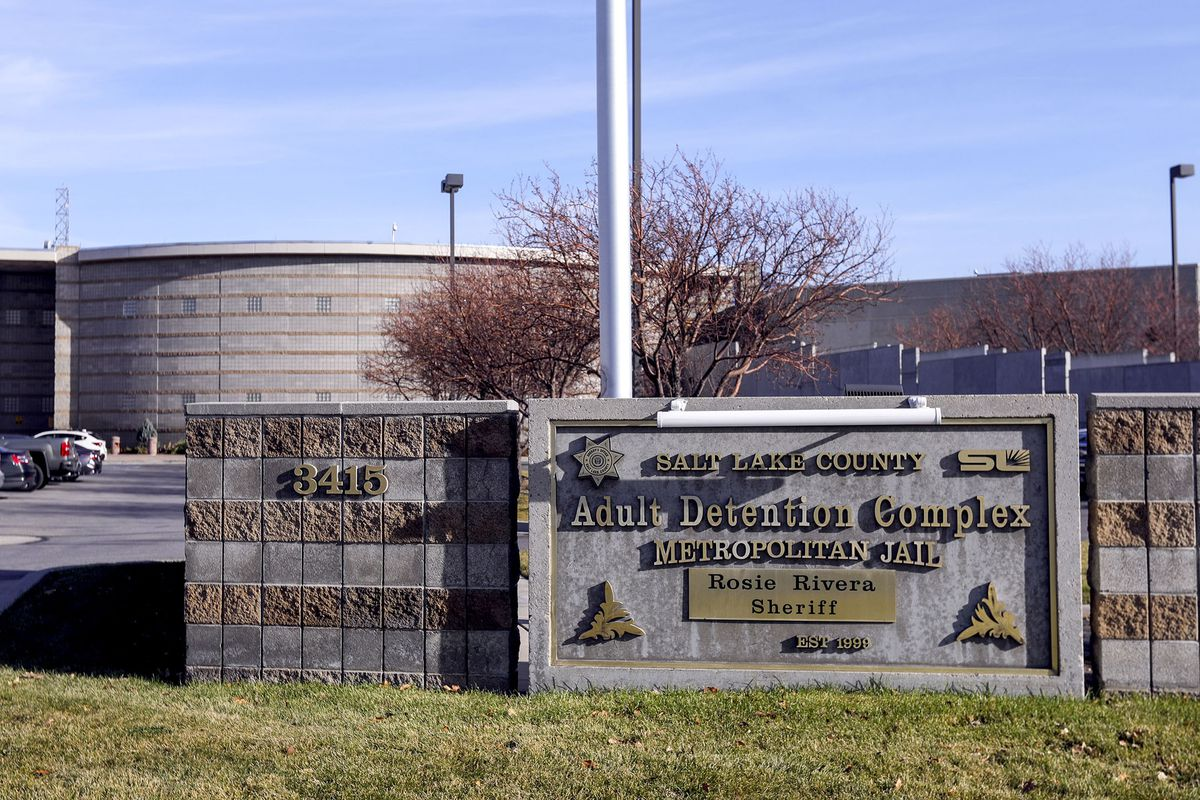 The Salt Lake CountyJail in South Salt Lake is pictured on Monday, Nov. 16, 2020.
