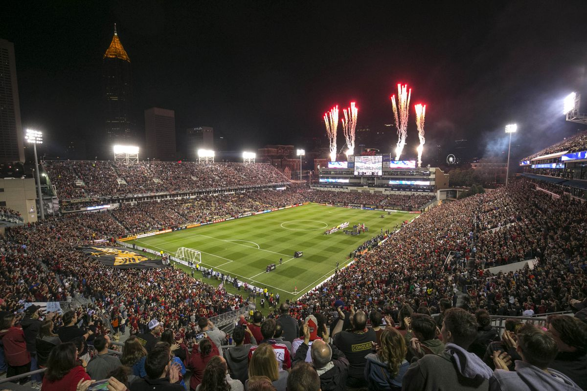 Atlanta United's 55,000-strong debut proves the city's ...