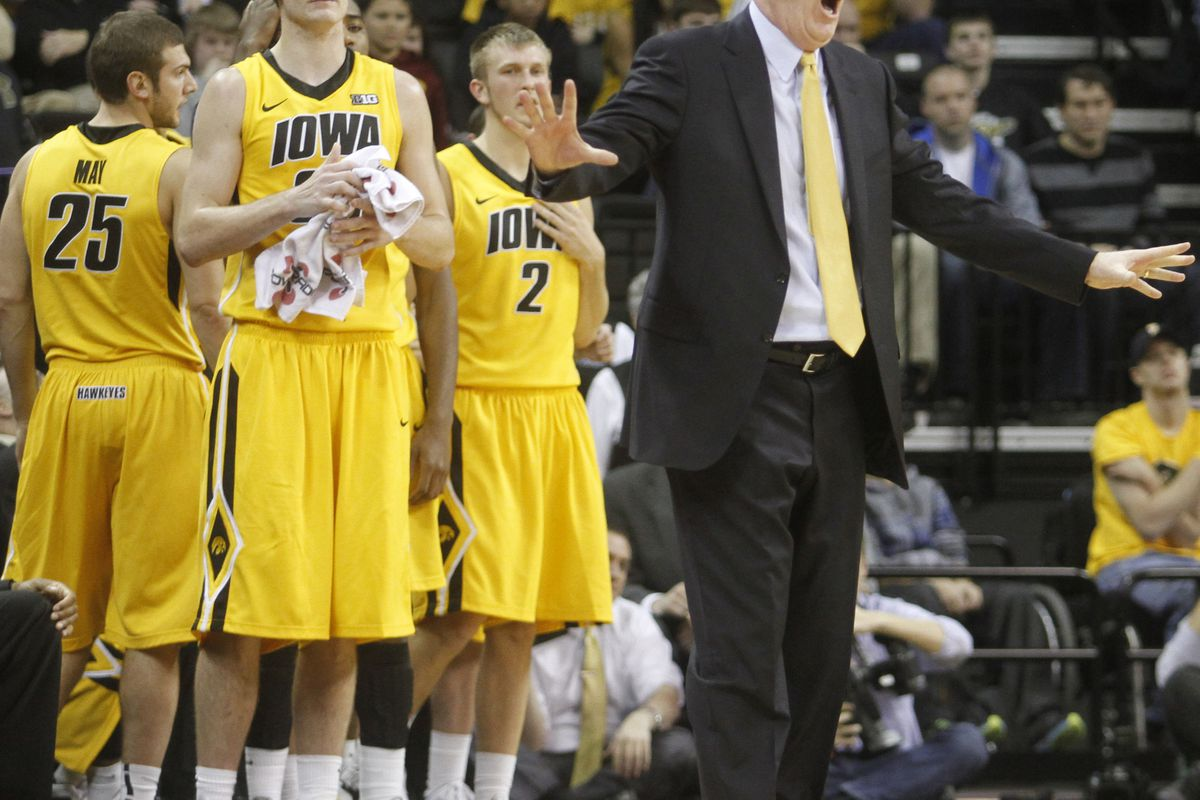 Fran McCaffery and Iowa head to town looking to make it two upsets in a row.