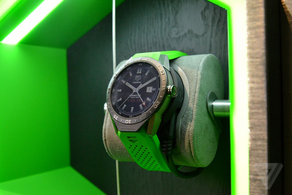 Hands-on with the $1,500 Tag Heuer Connected smartwatch ...