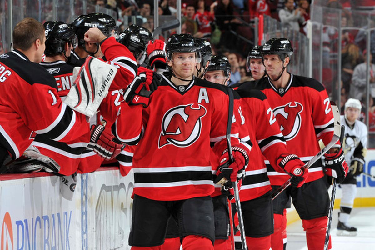 Some in the media would have you believe that there being only 17 Devils in Monday's game is a crisis. (Photo by Christopher Pasatieri/Getty Images)