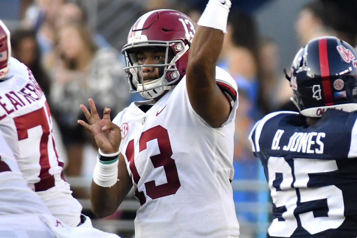 NCAA Football: Alabama at Mississippi