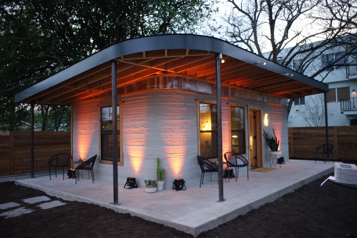 This cheap 3D-printed home is a start for the 1 billion who