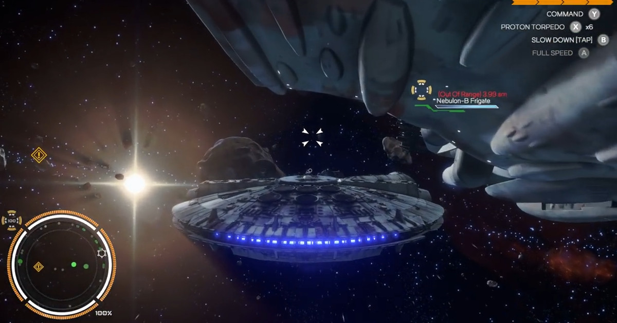 Watch a 2016 Star Wars space game that never made it into production