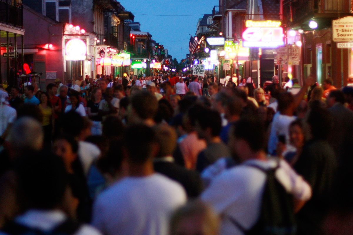 Bourbon Street is a must -- once.